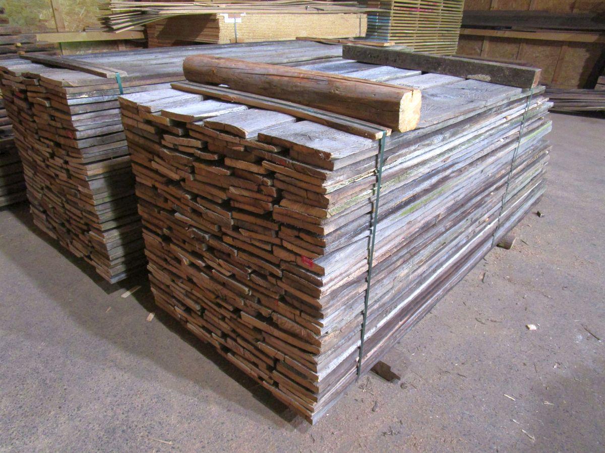 Sonnenverbrannte Bretter - Bio Holzhandel