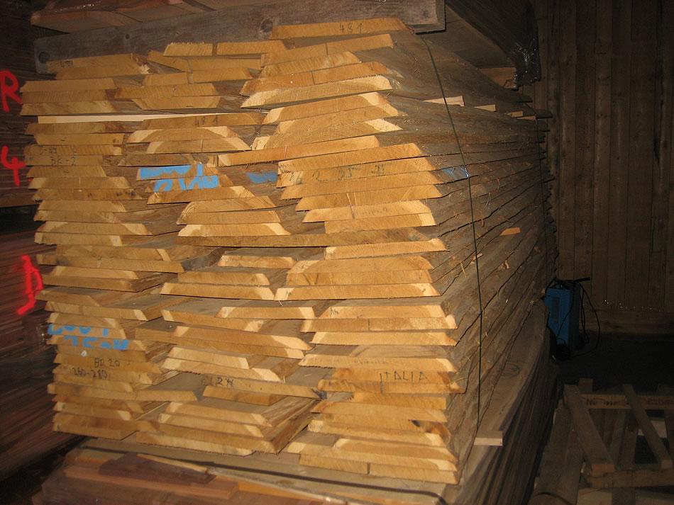 Unbesäumte Ware - Bio Holzhandel